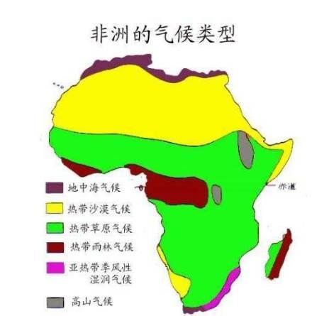 非洲的氣候特徵及成因 - 每日頭條