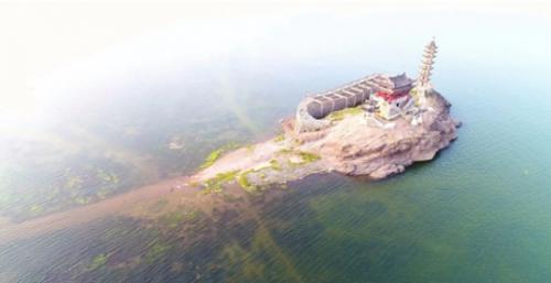 「落星墩」重新入水,鄱陽湖豐水期即將到來 - 每日頭條