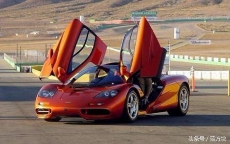 超級跑車的獨特標誌——蝶翼門 - 每日頭條