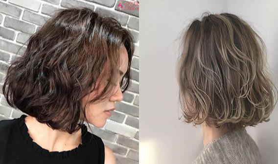 40歲的女人。捲髮比直發好看!2019最流行的3款短燙髮。好減齡! - 每日頭條