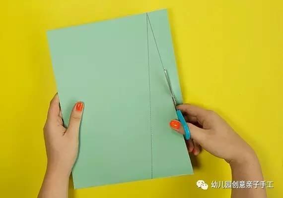 幼兒園親子手工之創意瓦楞紙。逼真的做法。讓孩子看完統統被吸引 - 每日頭條