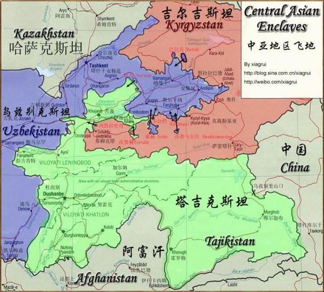 策略太長遠。蘇聯曾在中亞地區大洗牌。否則兩個內陸小國不存在 - 每日頭條