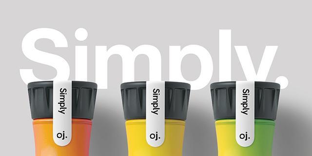 經典-OJ.果汁品牌及包裝設計 - 每日頭條