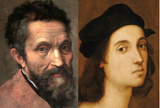 為何米開朗基羅痛恨拉斐爾?5對影響藝術史的世仇 - 每日頭條