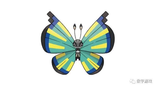神奇寶貝碧粉蝶不是百變。20變而已 - 每日頭條