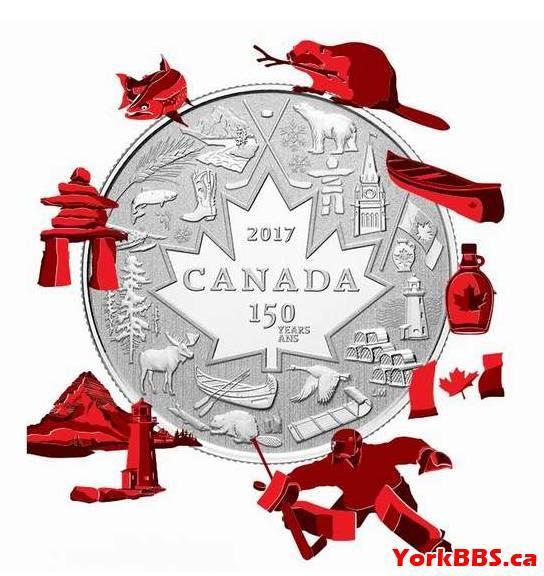 顏值超高!加拿大150周年紀念幣你收藏了嗎? - 每日頭條