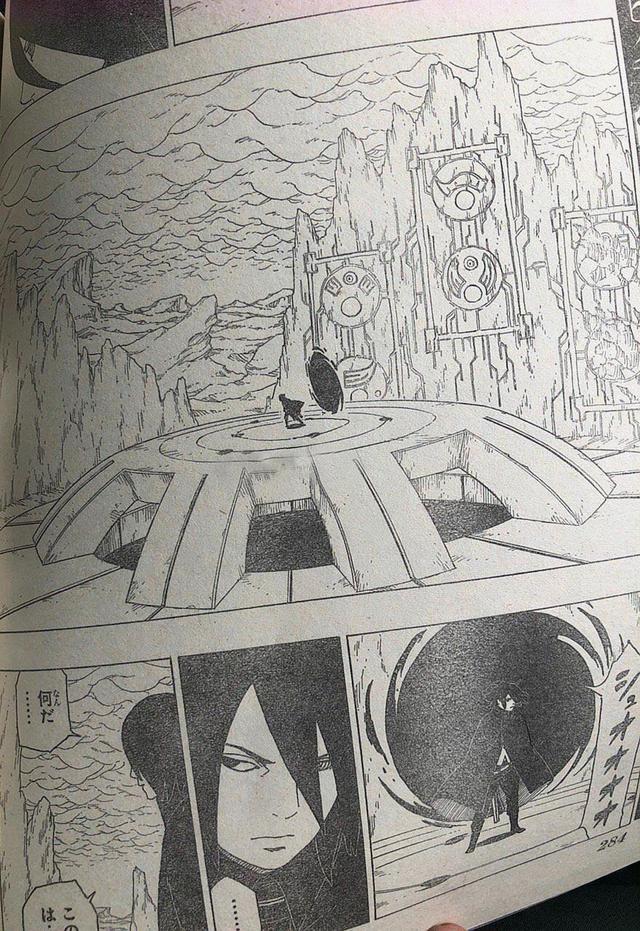 博人傳漫畫35話:十尾再次登場,慈弦是輝夜同伴,來自大筒木一族 - 每日頭條