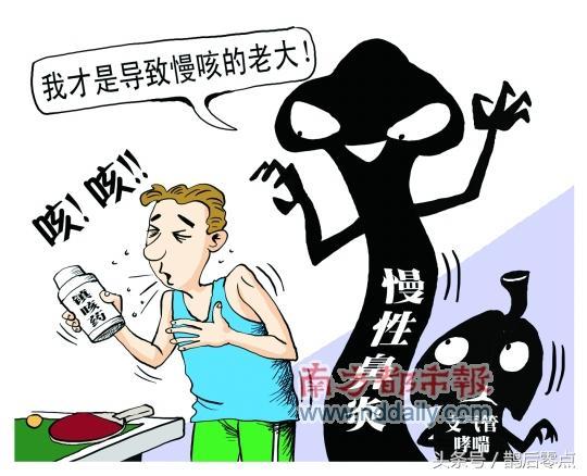 喉嚨沒有發炎,為什麼會咳嗽?原來慢性鼻炎是老大? - 每日頭條