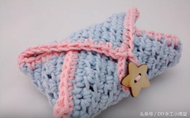 入門級針織教程|手工製作毛線香皂包 - 每日頭條