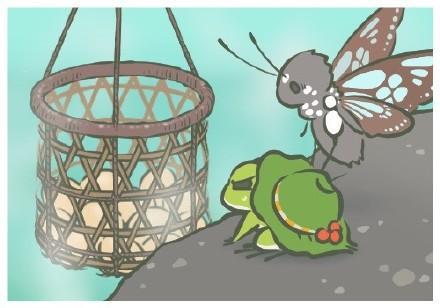 旅行青蛙蝴蝶照片怎麼獲得 要給小青蛙買比較貴的食物 - 每日頭條