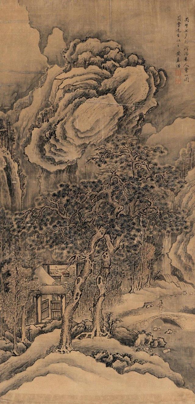 三位順治康熙時期的宮廷畫家。你喜歡誰多一點 - 每日頭條