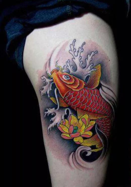 錦鯉紋身的含義 - 每日頭條