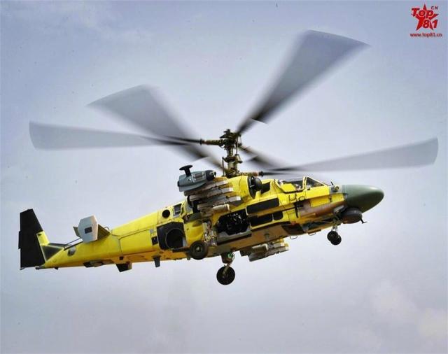 俄羅斯為埃及建造的首駕Ka-52武裝直升機飛行測試照曝光 - 每日頭條