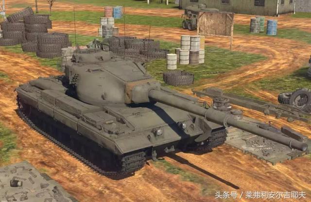 《戰爭雷霆》紅色洪流的抵抗者——征服者重型坦克 - 每日頭條