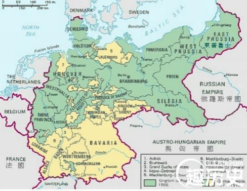 普魯士--世界史普魯士地圖 - 每日頭條