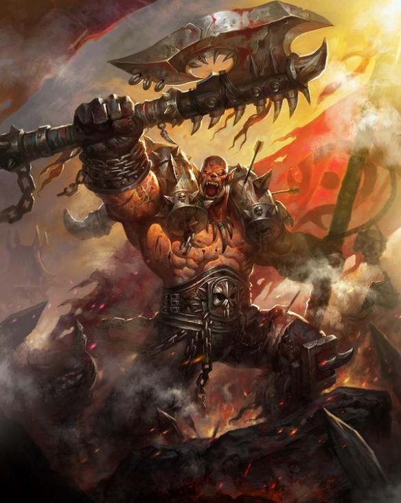 魔獸世界之部落戰爭英雄——加爾魯什·地獄咆哮 - 每日頭條