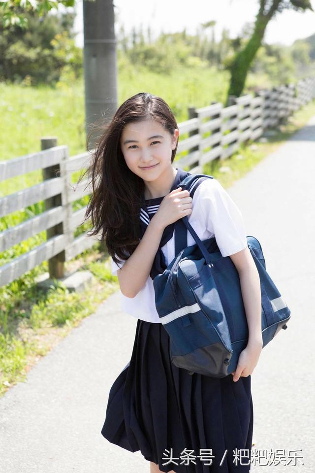 初戀般的感覺 天使之萌日本新晉演員山口麻友 - 每日頭條