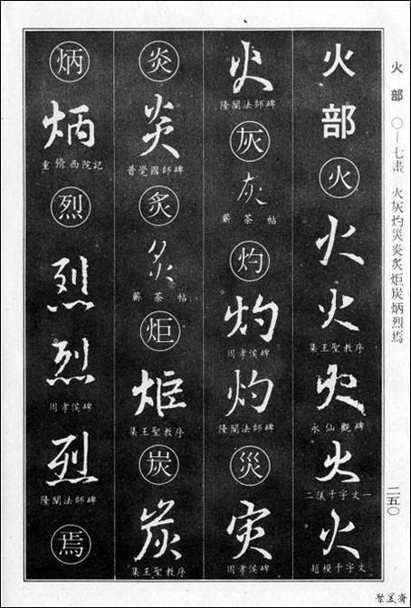 《王羲之行書大字典》(下篇)書法典藏! - 每日頭條