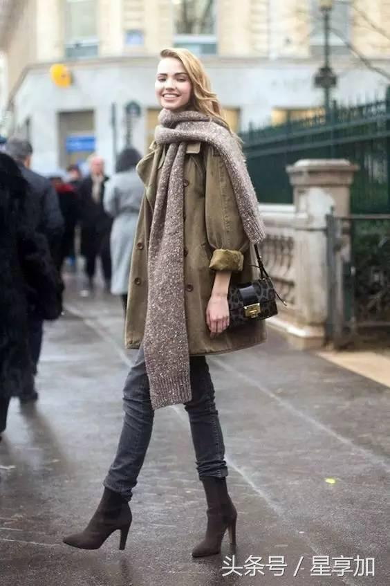 圍巾+大衣的標配組合你也會出錯?還好意思出門! - 每日頭條