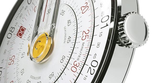 靈感來源於圓形計算尺的手錶。簡直酷到沒朋友 - 每日頭條