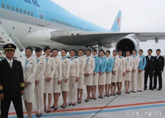 朝鮮空姐與韓國空姐對比看 - 每日頭條