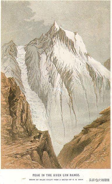 一張地圖,看世界十大最長的山脈 - 每日頭條