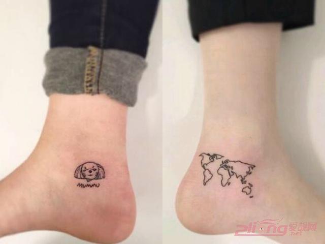 小巧精緻女腳踝紋身圖案大全圖片 - 每日頭條