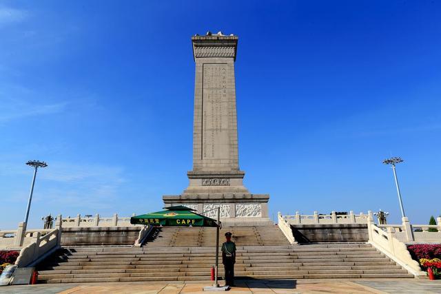 百噸人民英雄紀念碑過往:60多年前僅憑人力,艱難從青島運到北京 - 每日頭條