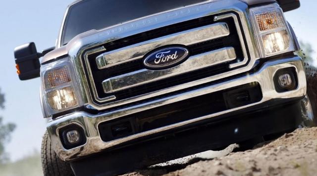 汽車圖集:福特汽車的標誌是採用福特英文Ford字樣。藍底白字 - 每日頭條