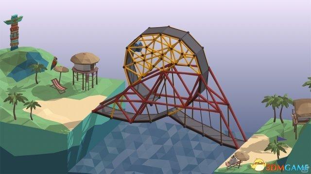 物理高玩向 建橋遊戲《Poly Bridge》登陸Switch - 每日頭條