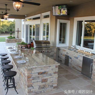 outdoor kitchen cost blenders 户外厨房的设计 每日头条