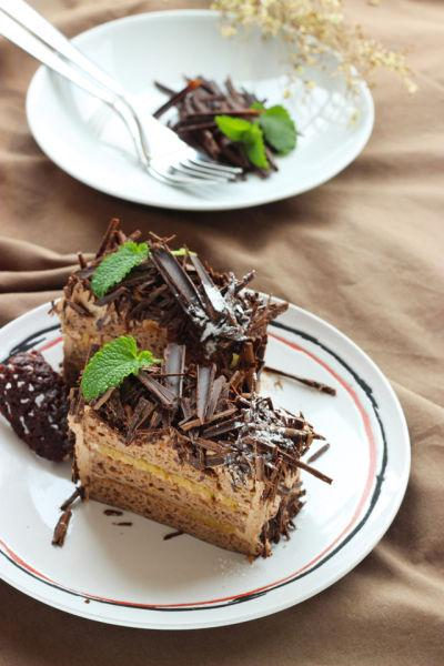 火焰酒燒香蕉配巧克力蛋糕 巧克力香蕉蛋糕 - 每日頭條