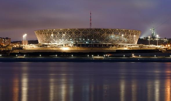 FIFA官方:2018年世界盃比賽場館進度更新 - 每日頭條