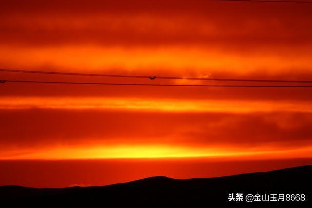 落日熔金戈壁紅 - 每日頭條