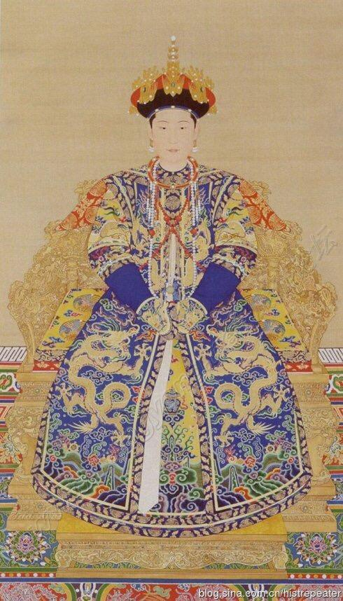 從清朝歷代皇后真實畫像看皇帝審美觀 - 每日頭條