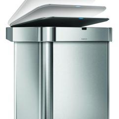 Simplehuman Kitchen Trash Can Free Standing Sink Cabinet 帶來智能垃圾桶 支持語音命令和wi Fi Ces 2017 每日頭條 本次ces 對智能家居的滲透無所不在 連垃圾桶都開始智能化 是一家高端的生活家居用品製造公司 這次帶來了智能垃圾桶 可以支持語音命令和wi