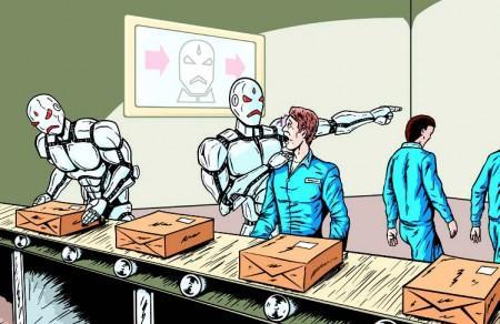 機器人讓富士康6萬名員工失業 或引發失業潮 未來或控制人類 - 每日頭條