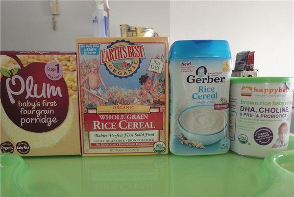寶媽親測四款寶寶米粉數據。給寶寶買米粉不用再糾結 - 每日頭條