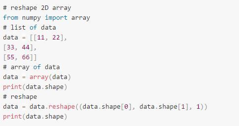 如何為機器學習索引,切片,調整 NumPy 數組 - 每日頭條