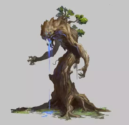 CG原畫:樹的畫法與怪物樹的設計思路(原理+案例) - 每日頭條