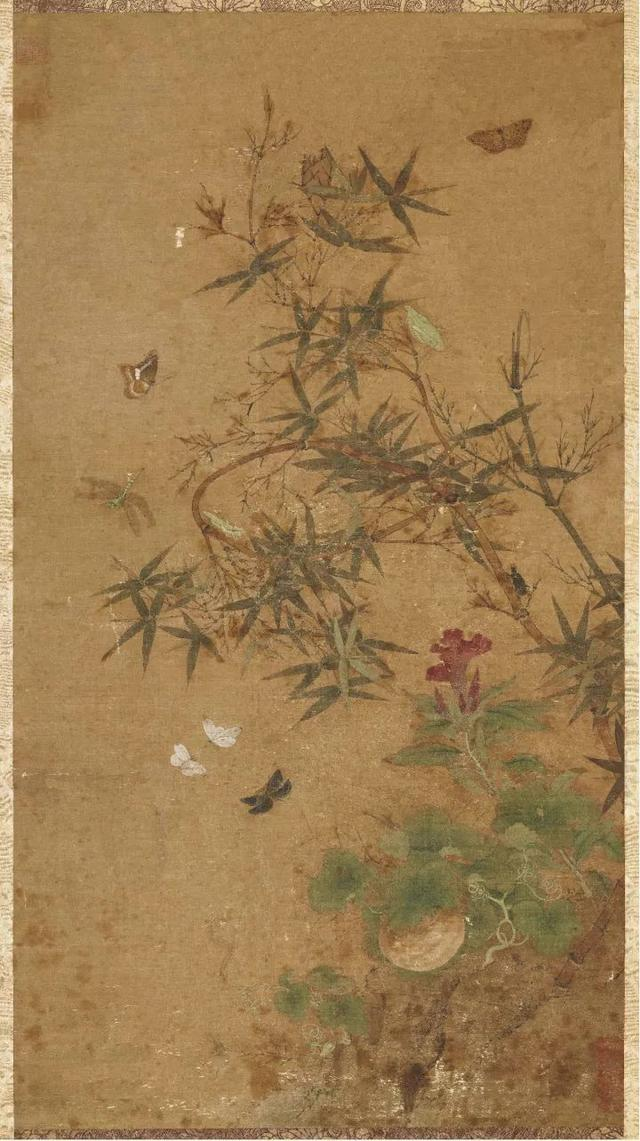 草間「偷」活:宋畫中的小蟲子 - 每日頭條