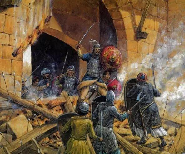 第二次十字軍東征時。突厥士兵眼中的法國人。要比德國人更加善戰 - 每日頭條