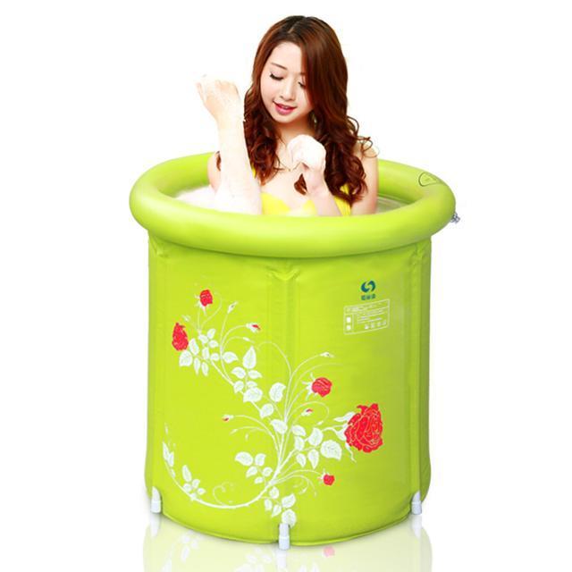浴室太小裝不下浴缸,22款摺疊浴桶推薦 - 每日頭條