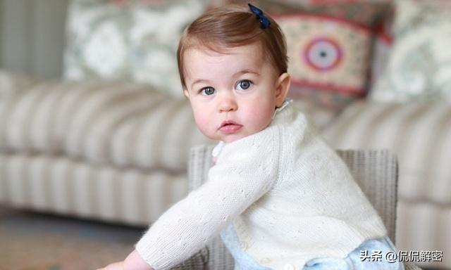 夏洛特公主軟萌可愛,遺傳到凱特王妃的高顏值,老照片見證玄機 - 每日頭條