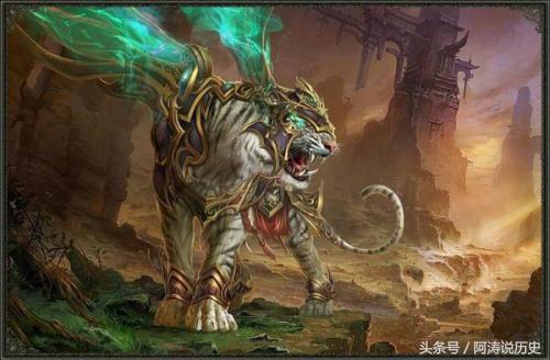 中國古代神異獸全集(二)上古神獸 - 每日頭條