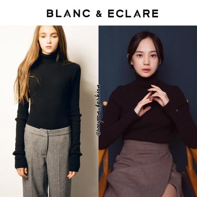 韓國明星的時尚新寵 Blanc & Eclare,最近三個月帶貨明星一覽 - 每日頭條