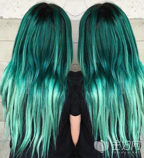 2017颳起一陣綠色旋風 草本綠色染髮又潮又酷 - 每日頭條