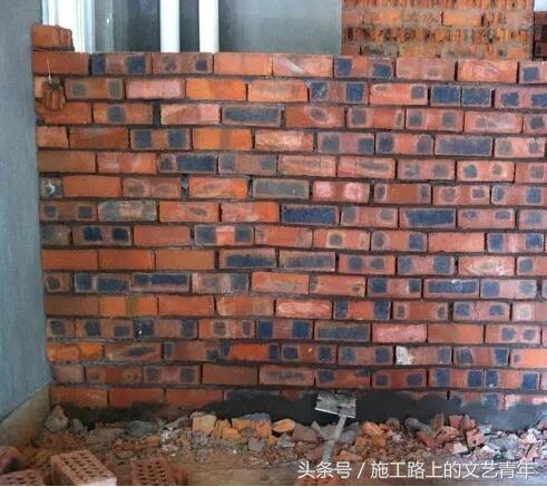 裝修砌牆你以為是把磚和水泥堆在一起?師傅說沒你想的那麼容易! - 每日頭條