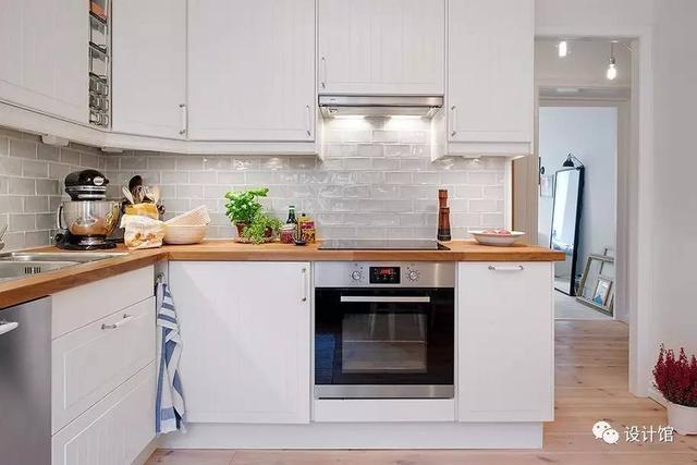 kitchen cabinets ri macy's sets 厨房小就把电器装厨柜里 整齐大方好漂亮 每日头条 1