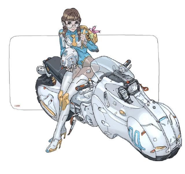 機甲少女不會受傷丨動漫人物插畫 - 每日頭條